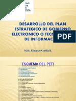 Desarrollo Del Plan Estrategico de Ti