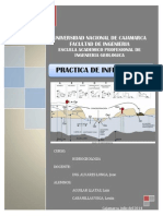 Informe de Hidrogeologia