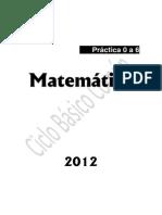 Guia Matematica (51) 2012
