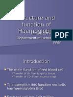 Estructura y Funcion de La Hemoglobina