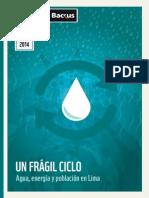 209653492 UN FRAGIL CICLO Agua Energia y Poblacion en Lima
