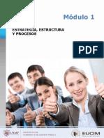 Estrategia,Estructura y Procesos Resaltado