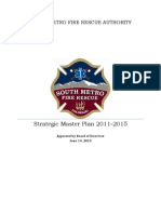South Metro Fire Rescue Strategic Master Plan