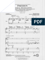 Frozen Choral Highlights SATB