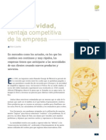 La Creatividad Ventaja Competitiva de La Empresa[1]