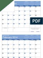 2014 Calendar Bold (1)