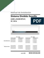 Catalogo Tecnico 2mww- 2mcw 1 - 2.5 Tr Seer 10