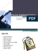 CMMI Implementation