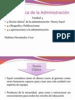U4.- Teoria Clasica de La Administración Part1