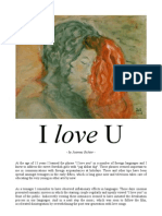 """The inflationary use of the verb """"love"""""""