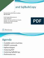Loading Data Using Sq l Bulk Copy