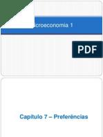 Cap. 7 - Preferências