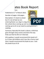 Tom Gates Book Report