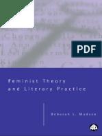 Deborah L. Madsen Feminist Theory and Literary Practice 2000