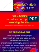 09 Transparency Accountblty