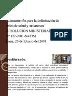 Organizacion de Los Servicios de Salud Sobre Las Bases de Redes y Microrredes de Salud