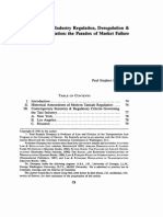 Taxi Industry Regulation, Deregulation, And Reregulation