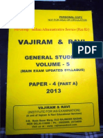 Vajiram & Ram- Ethics Integrity & Aptitude Part a - I