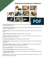 Animales y Plantas Extintos 2 Pags.docx