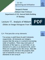 Lecture17 Midsem Exam Analysis 24sep09
