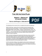 Fort Worth police 3-E Action Plan