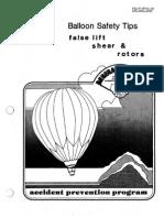 Balloon Safety Tips