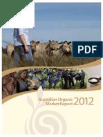 Australian Organic Market Report 2012