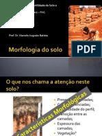1 - Morfologia Do Solo