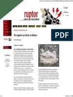Carlos Rehermann, Me Implota Un Bledo El Cilindro