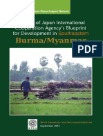 Critique of Japan International Cooperation Agency's Blueprint for Development in South-Eastern Burma (Myanmar) Brief Report (English) 2