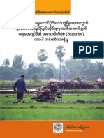 Critique of Japan International Cooperation Agency's Blueprint for Development in South-Eastern Burma (Myanmar) Full Report (Burmese) 2