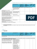 0038 Audit Matrix Maintenance Mgt