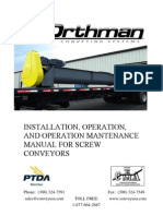 Screw Conveyor Manual