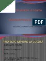 Proyecto Minero La Colosa