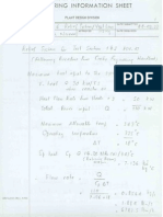 Relief Valve Sizing Calculations