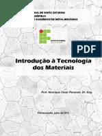 Introdução a Ciência Dos Materiais- Pavanati (Revisao1 2013)