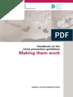 Handbook on Crime Prevention Guidelines - Making Them Work