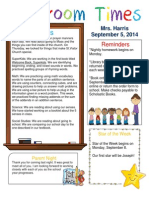 sept  5 newsletter