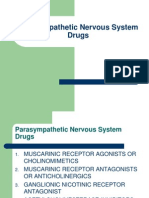 Parasympathetic Nervous System Drugs