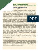 SKINNER, B. F. (1986) a Evolução Do Comportamento Verbal