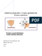 Cristalografia Para Quimicos - Teoria y Practicas - Lasarte