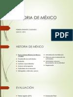 HISTORIA de MÉXICO Presentación Previa