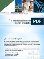 1.3 Aspectos Generales de La Gestion Energetica