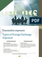 Transaction Exposure G1
