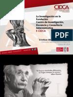 Investigacion Institucional- 2013 v3