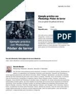 Ejemplo Practico Con Photoshop Poster de Terror