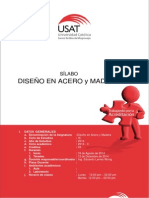 Silabo Diseño en Acero y Madera 2014-II ELW