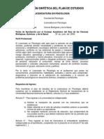 Curricula Psicología UNAM