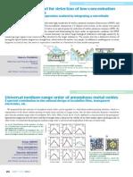 Biosensonr , & Oxides for Membrane Filters