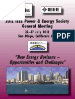 IEEE PES General Meeting 2012 Program